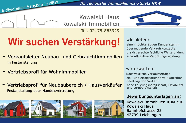 Kowalski Haus Ihr Partner für individuelles und sorgloses Bauen!
