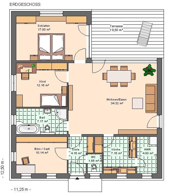 kowalski haus tais 120. Black Bedroom Furniture Sets. Home Design Ideas